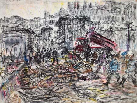 Guido Borgianni - 1966. Dopo l'Alluvione